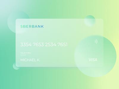 Glassmorphism Concept card design cards card banking app bank card bank app banking bank glassmorphism glassy glass