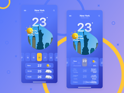 Weather Application glass glassmorphism ux  ui ui  ux uiux ux design uxdesign ux uidesign ui application design applicaiton applications application ui app design application app weather icon weather app weather