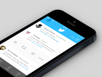 Twitter iOS 7 Concept - Free Download