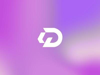 D Logomark for DEFT VISUALS d logo design illustration design bold symbol logomark logo graphic design geometric branding lettermark