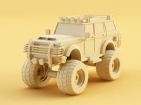 SUV clay