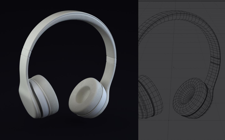 Headphone clay
