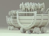 Wheat cart