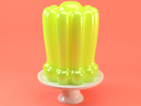 Lime Floral Jelly 01