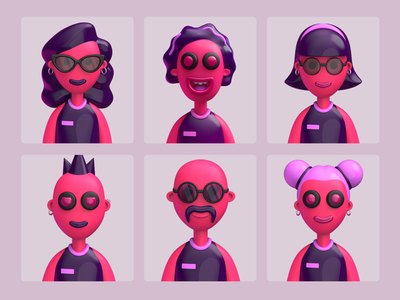 Winner Game 3D Illustrations graphic-design game 3d-character illustration characterdesign character 3dillustration 3rd