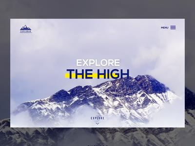 Traveler Agency Landing Page