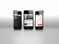 Web Layout for Vocento Mobile Websites