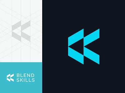 IT School logo design minimalism minimal effectivesoft clean minimalistic e-learning school logo