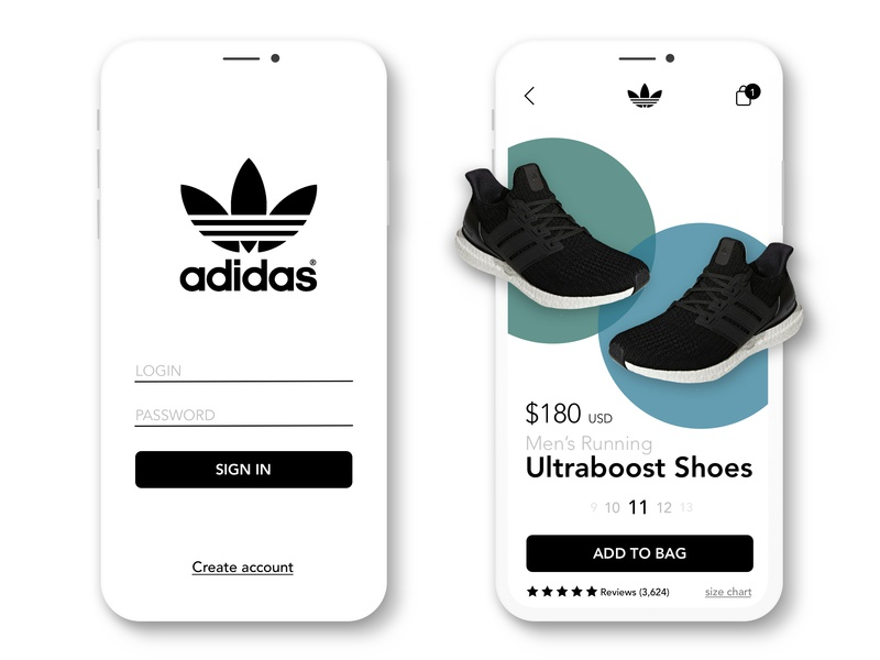 detailed pictures 0aa47 2dd00 Adidas Mobile App