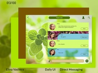 Day 13 Daily Ui Direct Messaging Dribbble