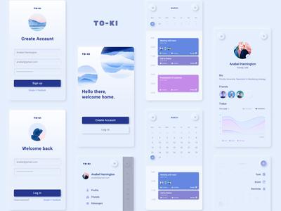 TO-KI concept app