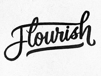 Flourish Friday! flourishfriday project365 brushscript typography lettering handlettering