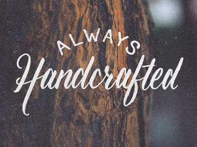 Okay, MOST of the time project365 brushscript typography lettering handlettering