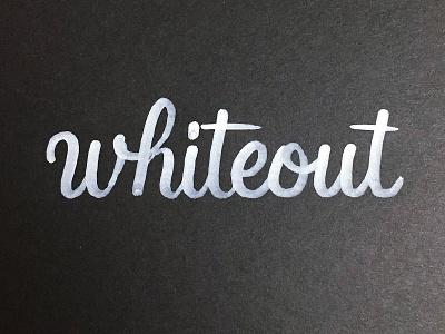 The Original CTRL-Z project365 brushscript typography lettering handlettering