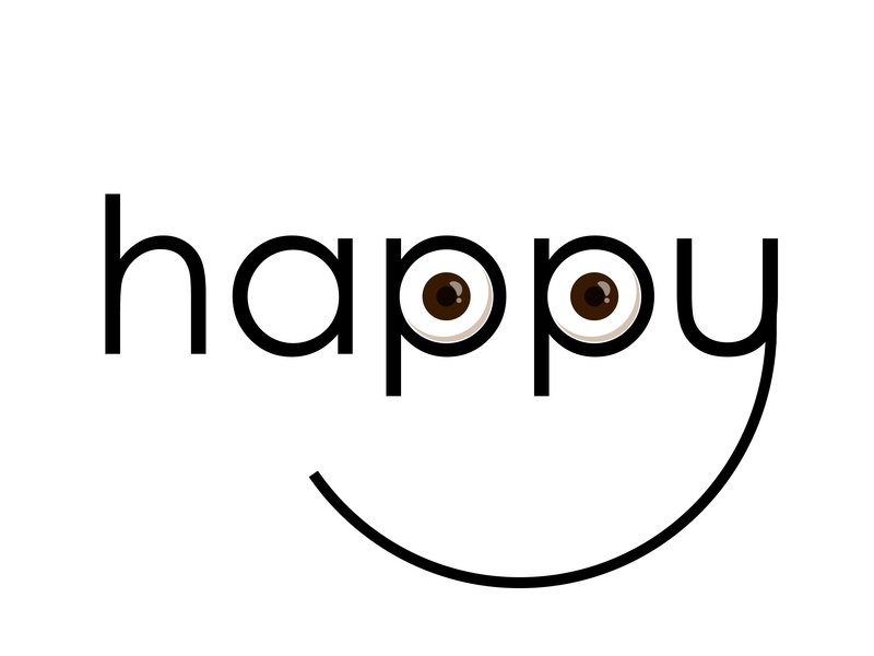 HAPPY motion animation eyes happy motiongraphics vector animation rehanghani artist logoinspirations design illustration graphic artist dribbble adobeillustrator graphic  design adobe behance