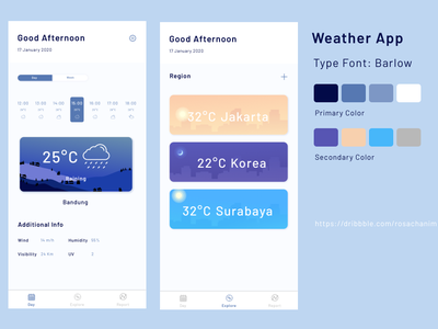 weather application weatherapp design app ui landing page mobile app icon app