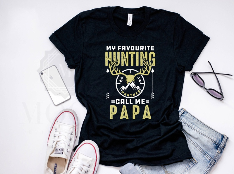 New Hunting T-shirt Design With Dad discount inspiration tshirt partners hunting dad skull etsy merchandaise merchandaise graphic design creativity amazon t shirts