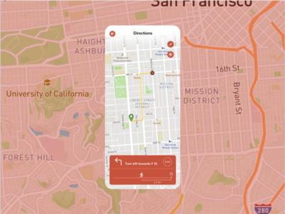 Daily UI #20 - Location Tracker locationtracker mapsicle figma design dailyui