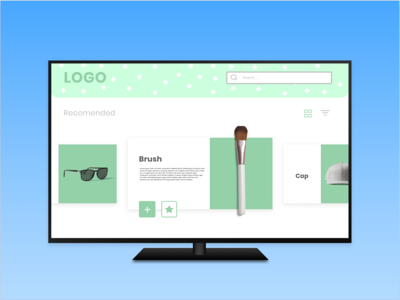 Daily UI: 26 - TV App quick tv app tv figma dailyui