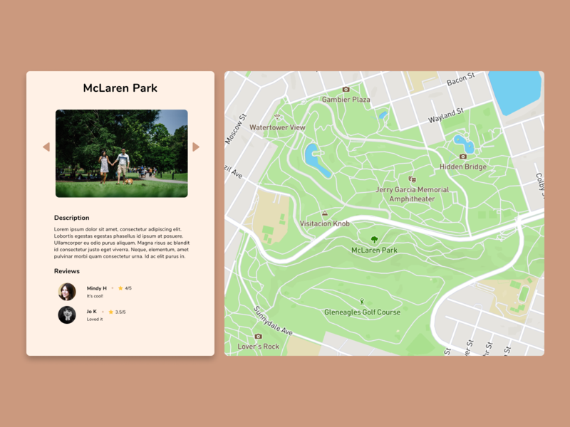 Daily UI : 29 - Maps map figma dailyui