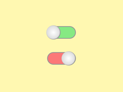 Daily UI #015 - On/Off Switch back at it daily ui