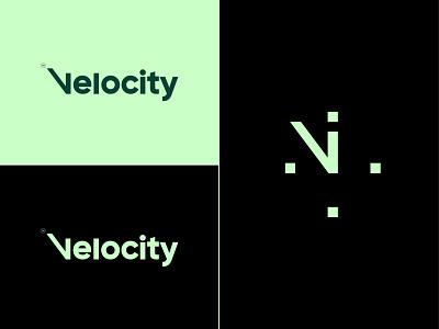 velocity (cargo) typogaphy cargo velocity vlogo logo