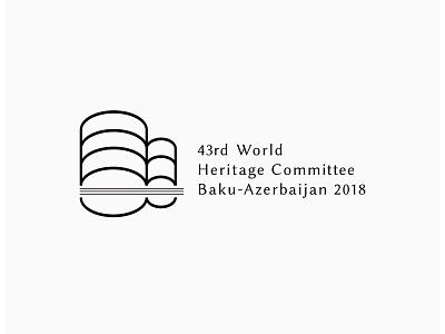 43rd World  Heritage Committee Baku-Azerbaijan 2018 logo