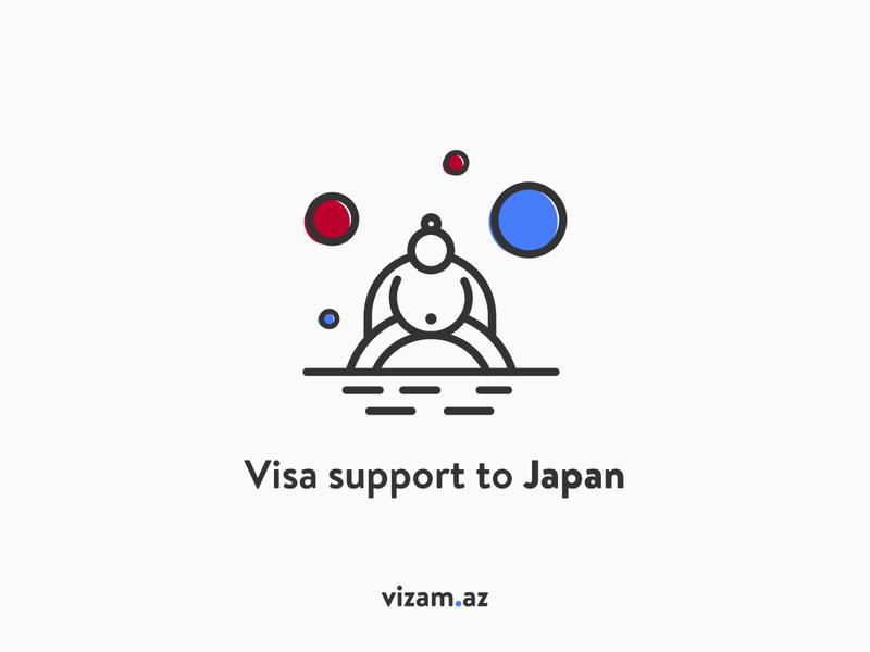 visa support to Japan