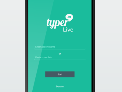 Typer.IM Live Android