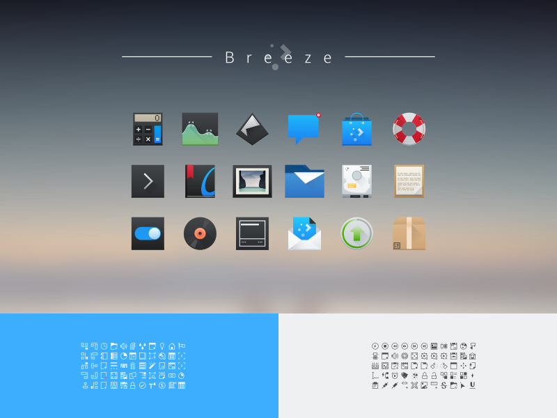 Breeze (Plasma 5) breeze icon theme kde plasma linux nitrux