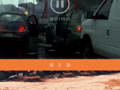 VLC Redesigned UI #01 ux ui qt video music player media vlc