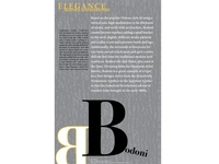 Bodoni Typography Poster