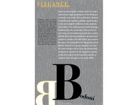 Bodoni Typography Poster