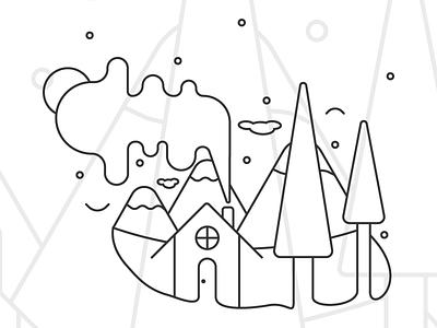 Boceto 1/2 moda wayshowing animation design vector ilustración
