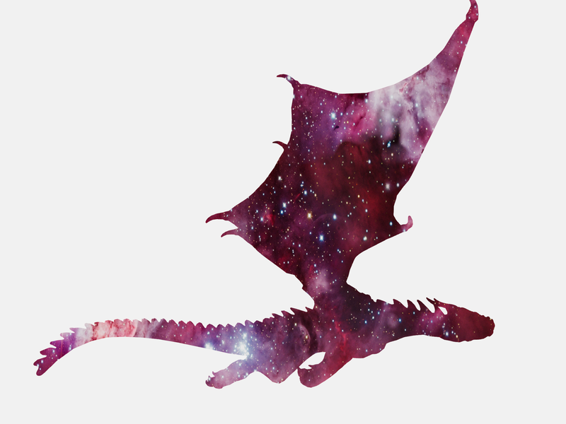 Dragon Nebula by Adam Courtenay on Dribbble