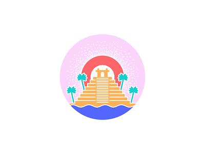 Sun Temple design illustration