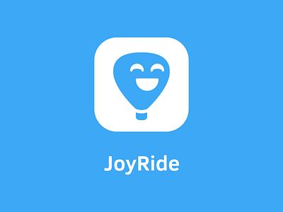 Daily Logo #002 — JoyRide dailylogochallenge logo concept hotairballoon