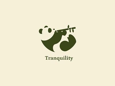 Daily Logo #003 — Panda dailylogochallenge logo concept panda