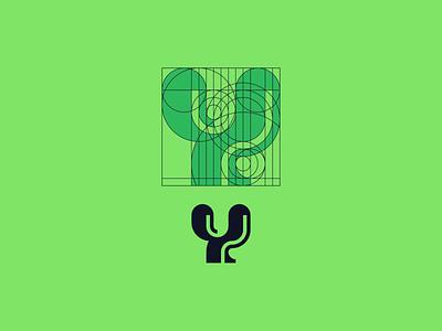 Daily Logo #004 — Y Logo dailylogochallenge logo concept letter y
