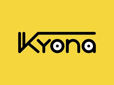 Kyona concept logo