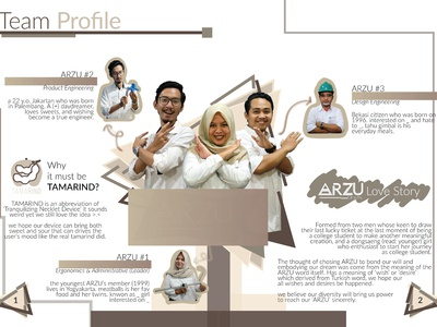Booklet Profile Page