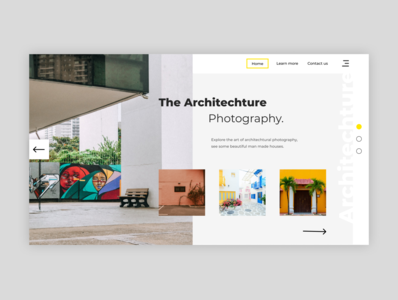 Photography Portfolio uiux social landing page landingpage uidesign webdesign portfolio website portfolio design portfolio