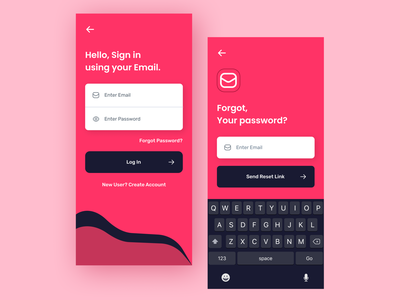 Sign in UI android ios ui social design uiux graphicdesign mobiledesign signin loginui appdesign uidesign