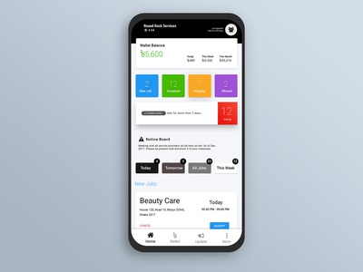 Manager app for Marketplace