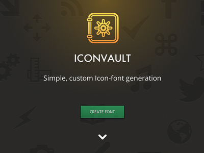 Iconvault final iconfont fonts webfont vault iconvault mp uni