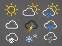Weather Icon Set WIP