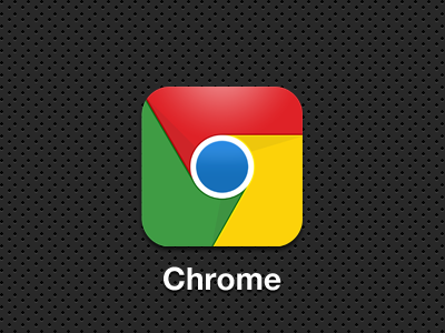 Updated ios chrome app icon