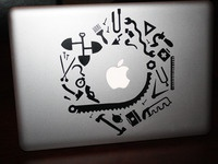 Build MBP decal