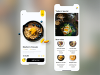 Food Delivery App UI interface mobile ui iphone ios food delivery service uiux ui lunch menu restaurant recipe food delivery food app food cooking cook