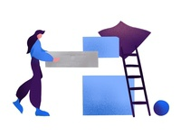 Illustration - Building blocks